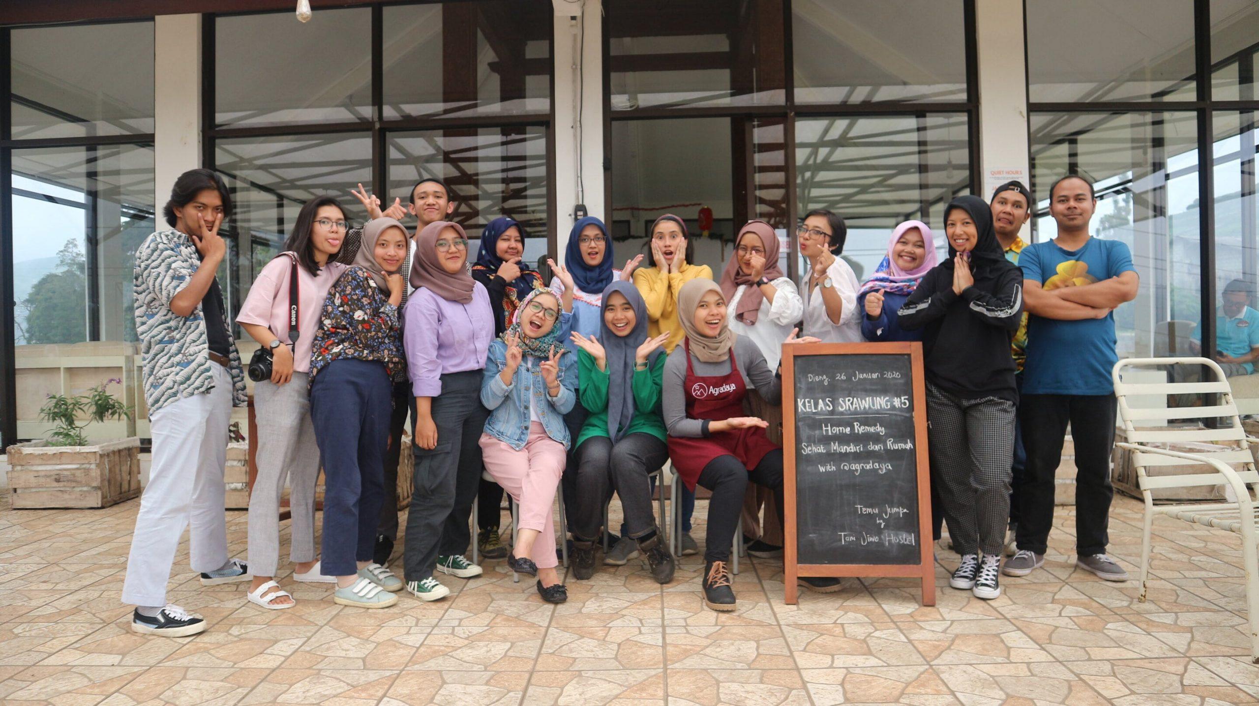 Agradaya dan Tani Jiwo: Kelas Srawung Sehat Mandiri Dari Rumah